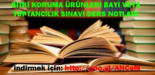 ilac-bayiligi-sinavi-ders-notlari